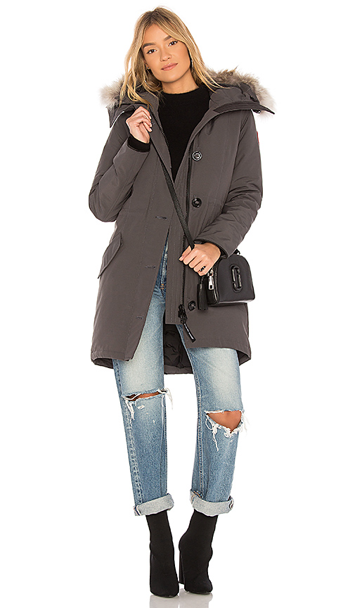 Canada Goose Rossclair Parka in Gray
