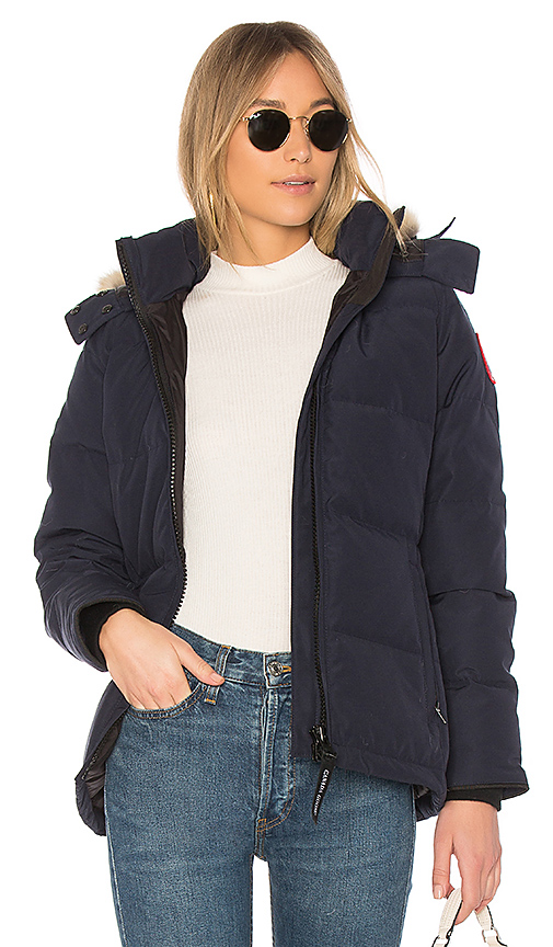 Canada Goose Chelsea Parka in Navy. - size XS (also in M,S)