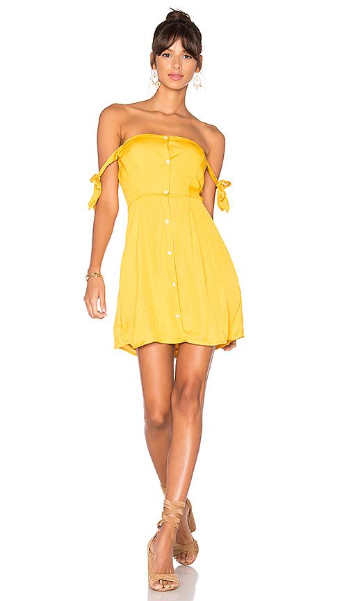 Capulet Giulia Mini Dress in Yellow
