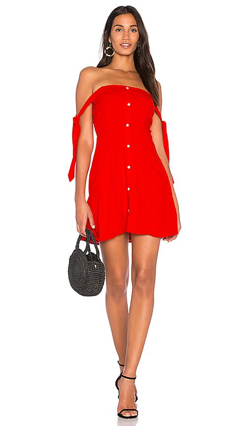 Capulet Giulia Mini Dress in Red