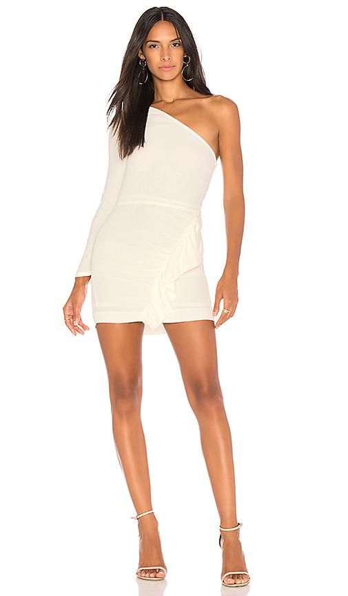Capulet Beverly One Shoulder Dress in White