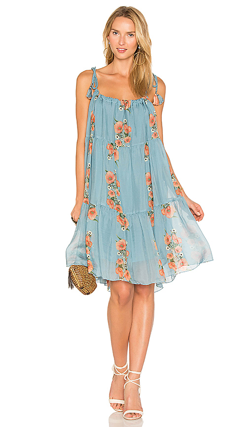 Carolina K Three Way Dress in Blue