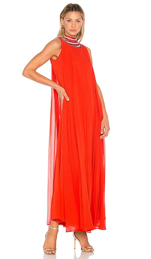 Carolina K Cleo Gown in Red