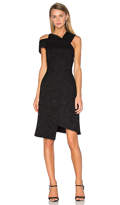 Acler Oliver Dress in Black. - size 4/S (also in 2/XS)