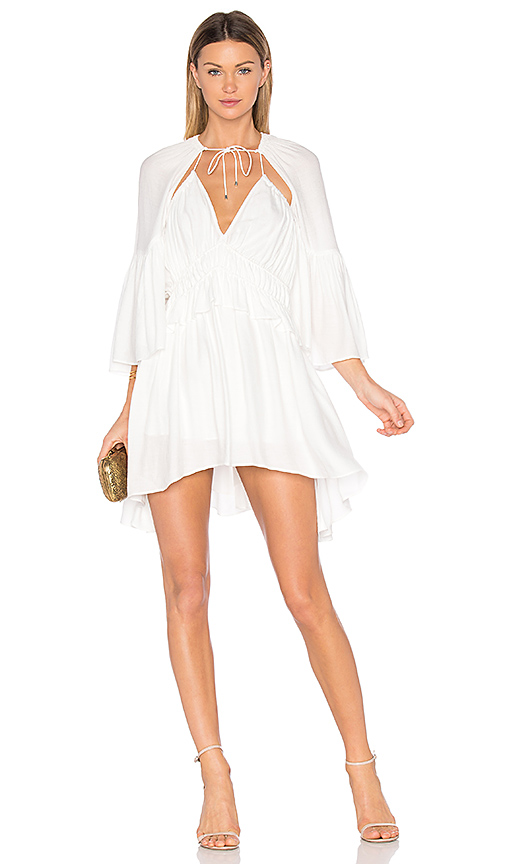 Acler Dover Dress in White