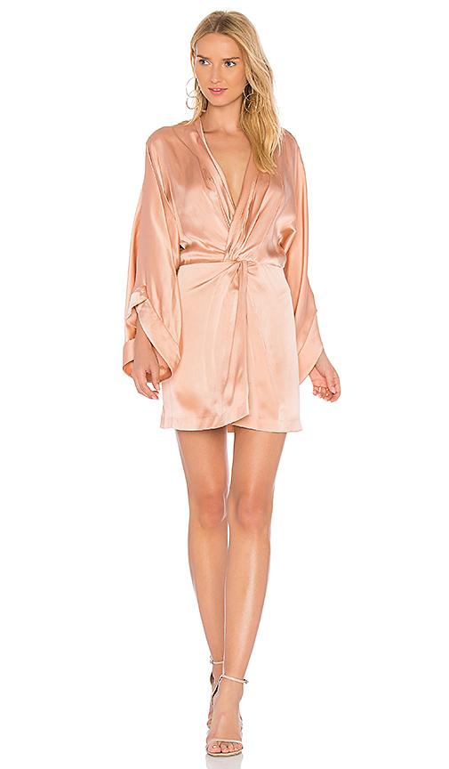 Acler Eden Silk Dress in Pink. - size Aus 10/US 6 (also in Aus 12/US 8,Aus 6/US 2,Aus 8/US 4)