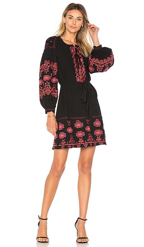 Central Park West Marrakech Dress in Black