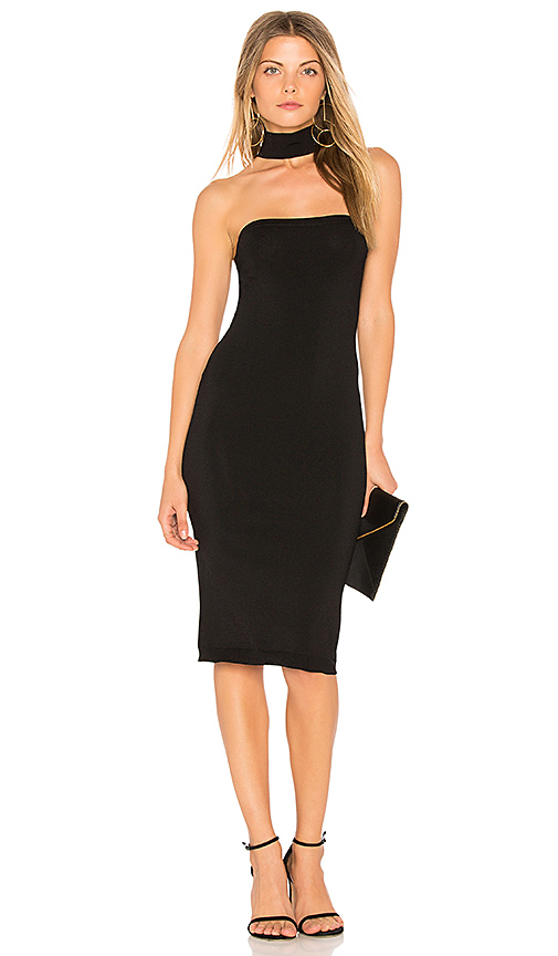 Central Park West Amagansett Dress in Black