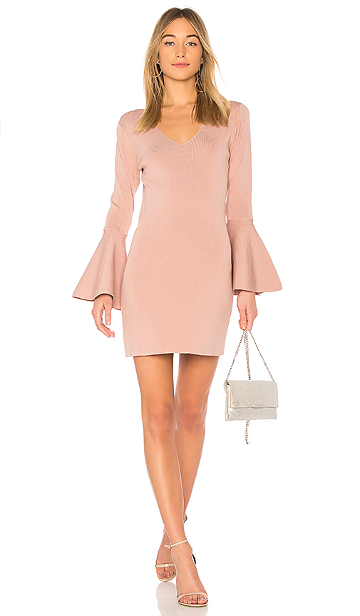 Photo of Central Park West Olympia Dress in Mauve - shop Central Park West dresses sales