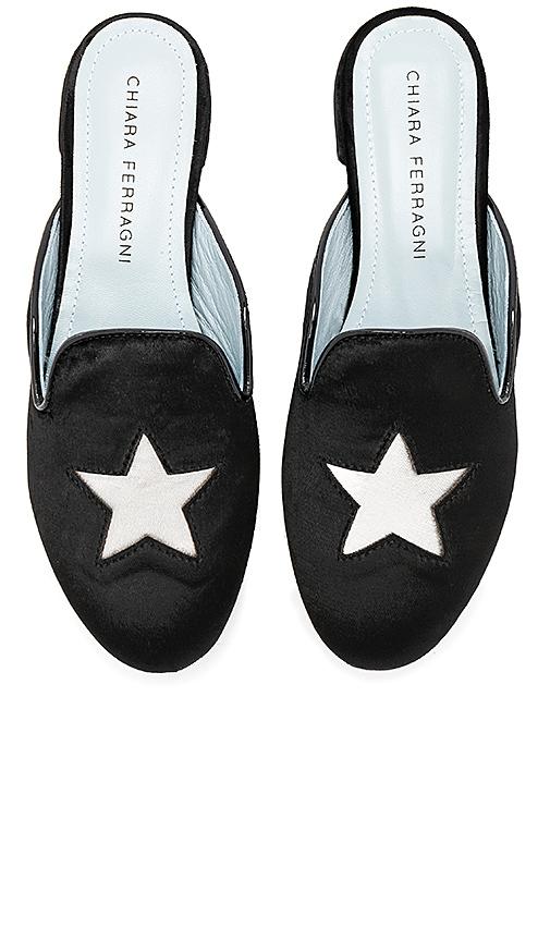 Chiara Ferragni Star Slide in Black