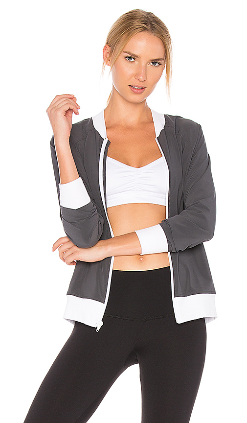 CHICHI Serena Bomber in Gray
