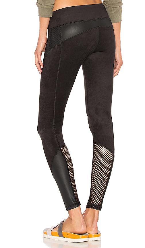 CHICHI Gwen Suede Legging in Black. - size XS (also in L,M,S)