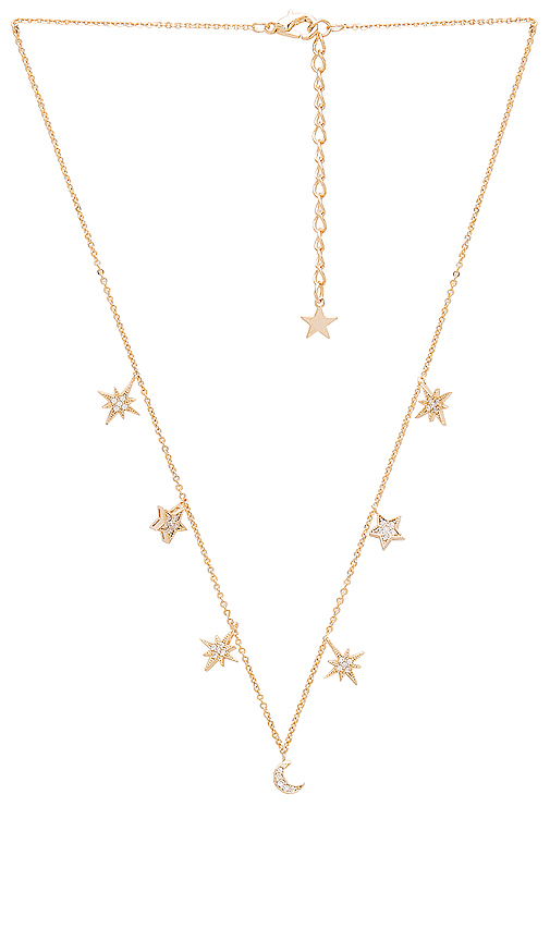 CHILD OF WILD CELESTIAL STARS & MOONS NECKLACE