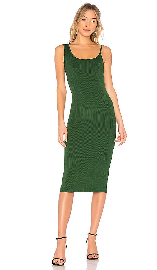 Christopher Esber Icon Singlet Tank Dress in Green
