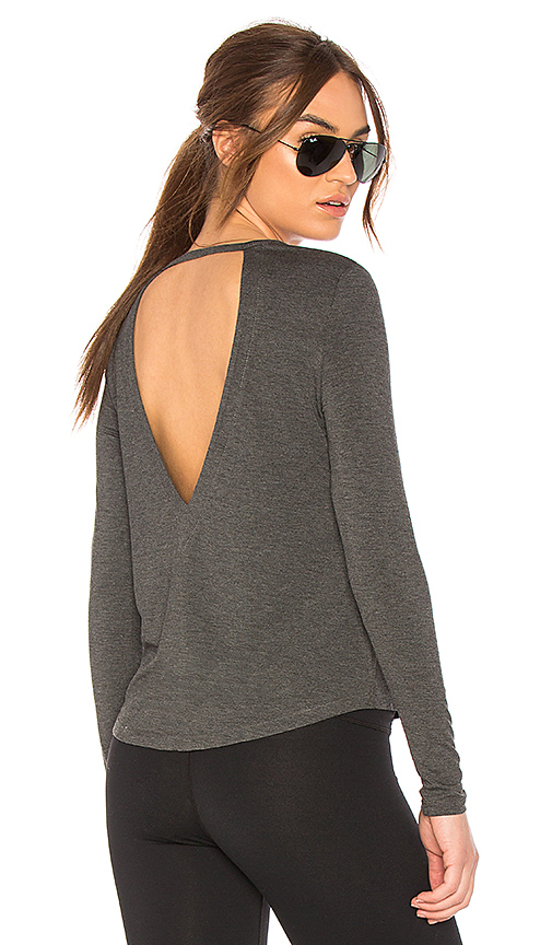 Chill by Will Acclaim Top in Charcoal