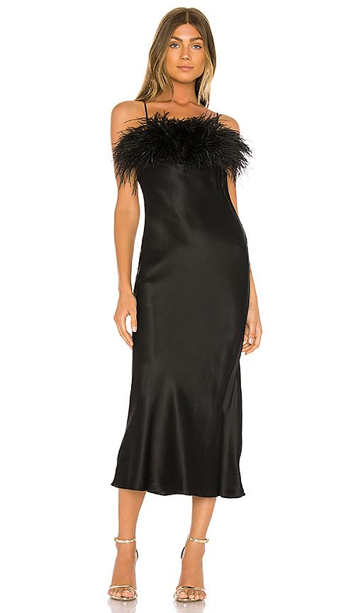 Cinq À Sept Dresses CINQ A SEPT CERISE DRESS IN BLACK.