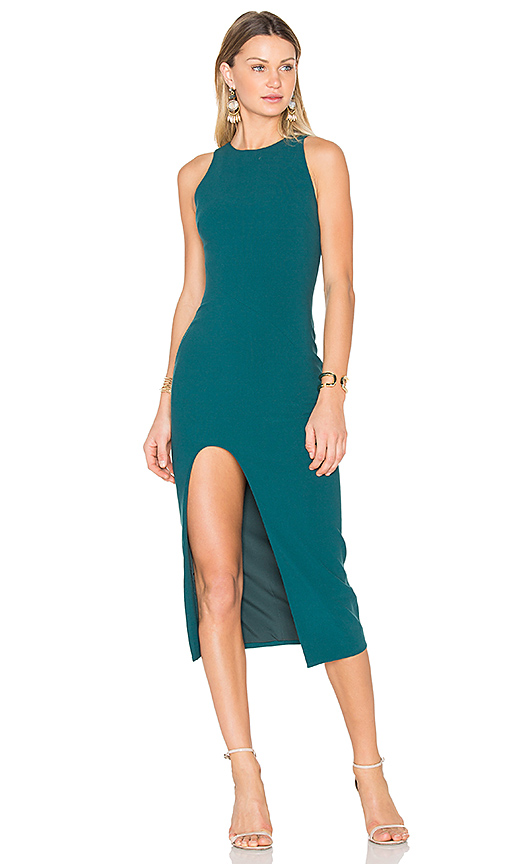 Cinq a Sept Eve Dress in Teal