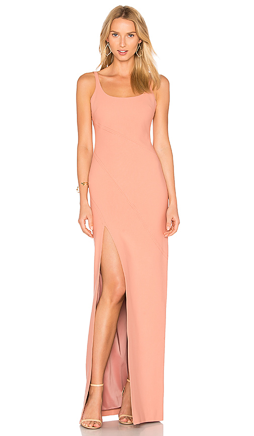 Cinq a Sept Astrid Gown in Pink