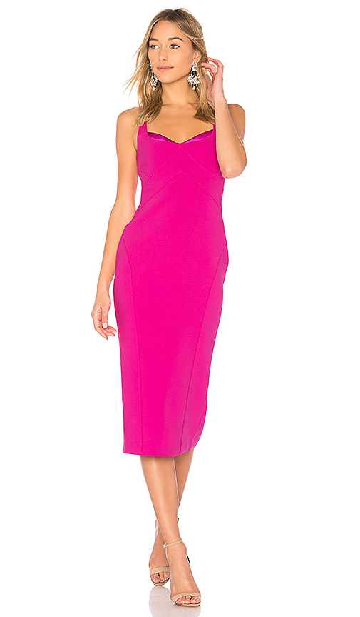 Cinq a Sept Mies Dress in Fuchsia