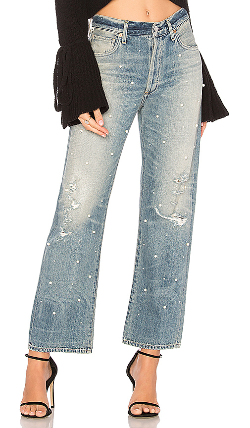 Citizens of Humanity Cora High Rise Relaxed Crop Jean. - size 24 (also in 25,26,27,28,29,30)