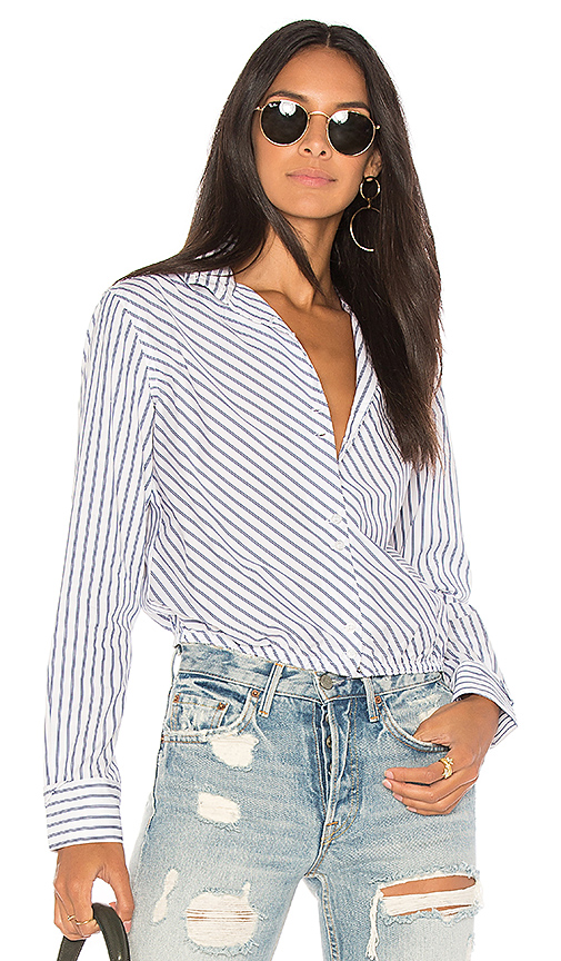 Citizens of Humanity Amelia Blouse in Blue