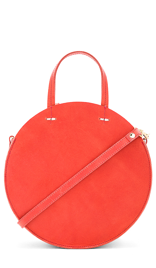 Clare V Petit Alistair Bag in Red