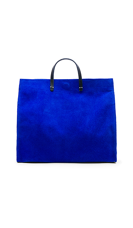Clare V Maison Simple Tote in Royal