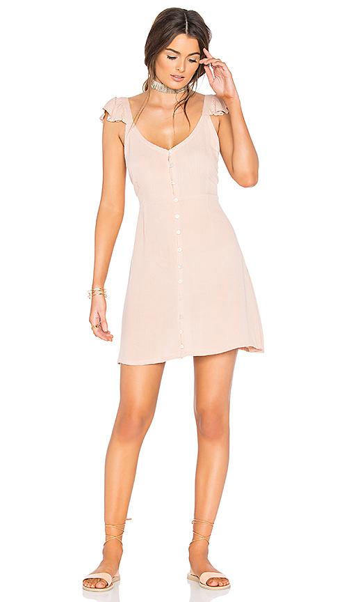Cleobella Vinita Short Dress in Blush