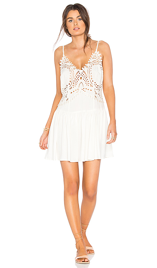 Cleobella Biarritz Short Dress in Ivory
