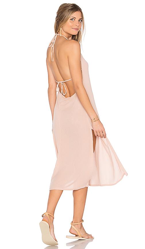 Cleobella Radium Midi Dress in Blush