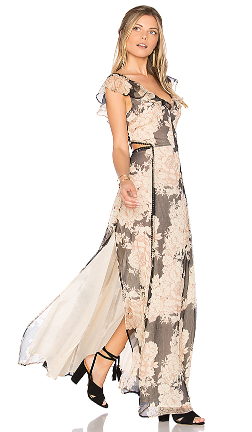 Cleobella Auden Maxi Dress in Blush