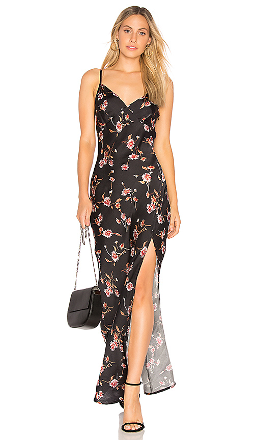 Cleobella Becket Slip Dress in Black