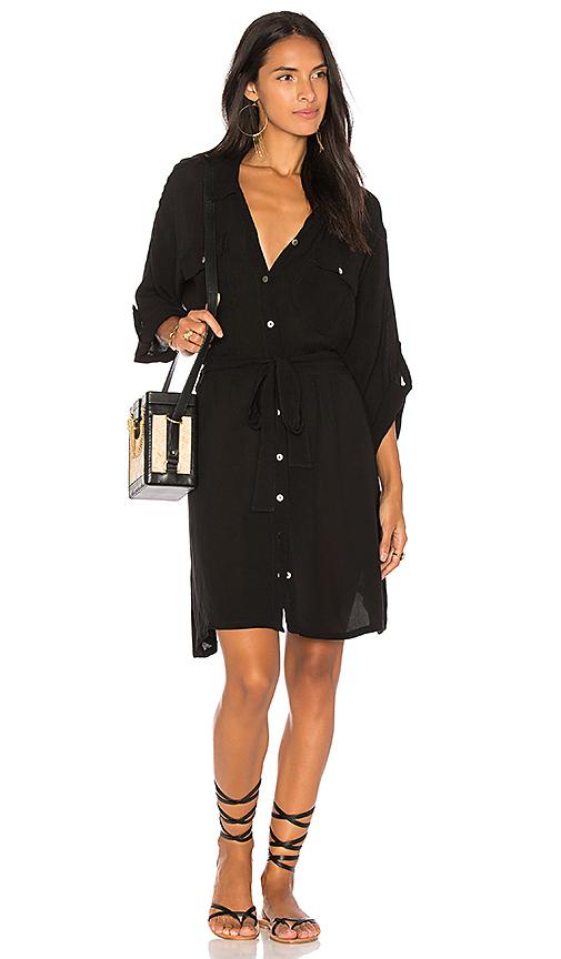 Cleobella Shira Mini Dress in Black