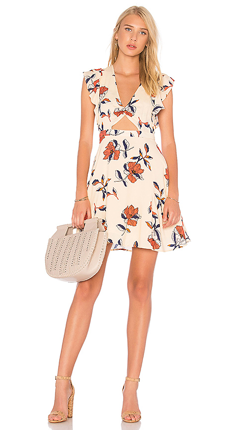 Cleobella Nieve Mini Dress in Cream