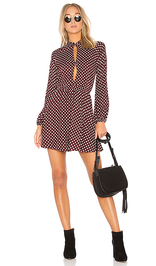 Cleobella Amour Mini Dress in Red