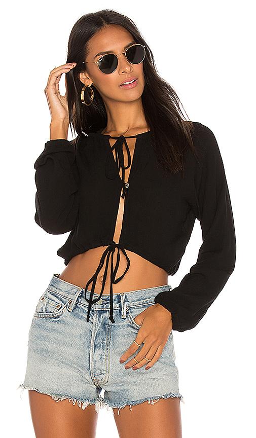 Cleobella Reed Top in Black