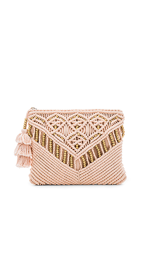 Cleobella Sevigny Clutch in Blush