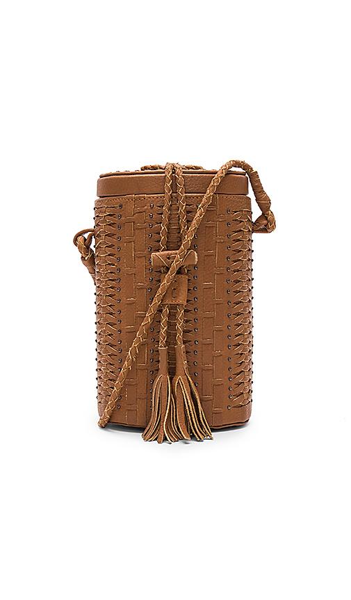 Cleobella Crosstown Bucket Bag in Brown