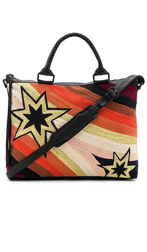 Cleobella Funkytown Weekender Bag in Black.