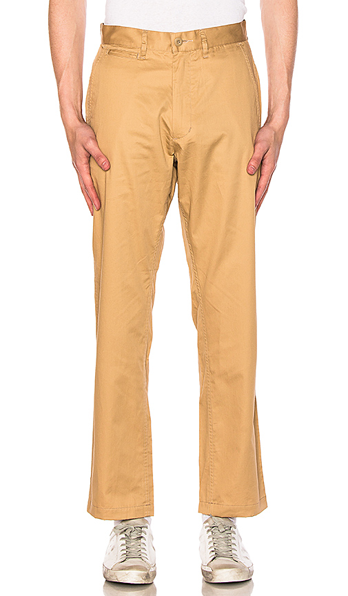 CLOT Chino Pants in Brown. - size L (also in M,S,XL)