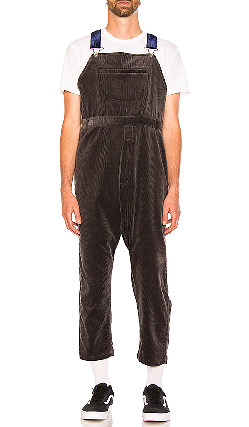 CLOT Corduroy Overall in Gray. - size L (also in M,S,XL)
