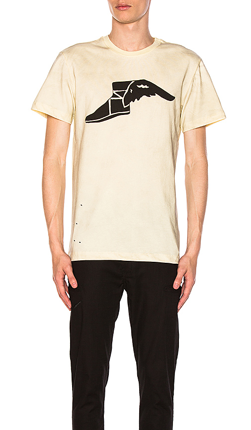 CLOT x Zoe Vance Redwing Tee in Cream. - size L (also in M,S)
