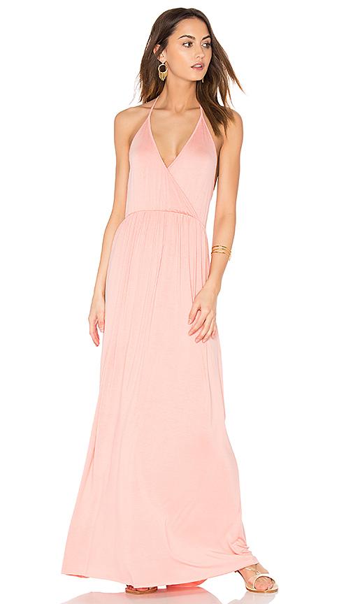 Clayton Penelope Dress in Peach