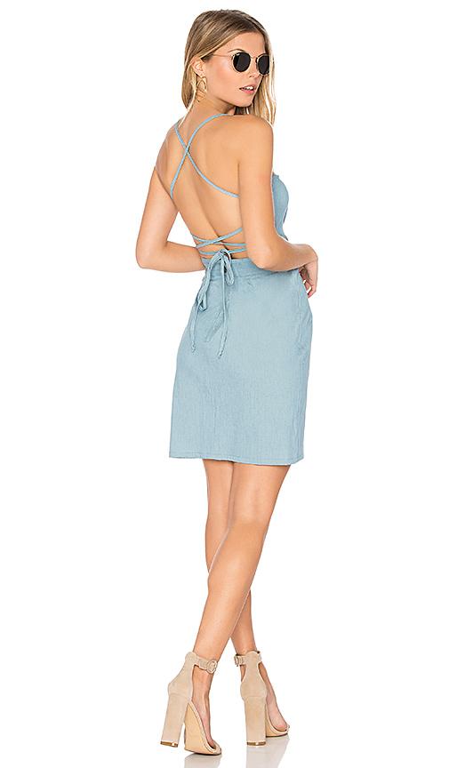 Clayton Denim Gidget Dress in Blue