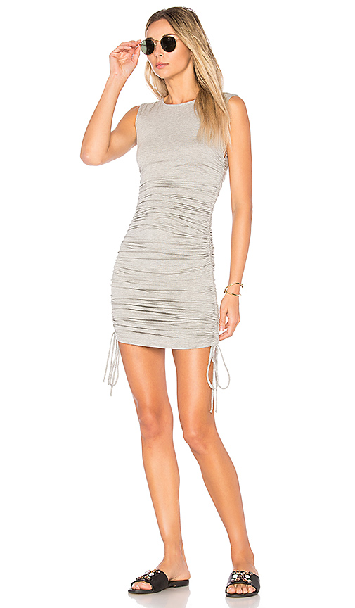 Clayton Alexa Dress in Gray