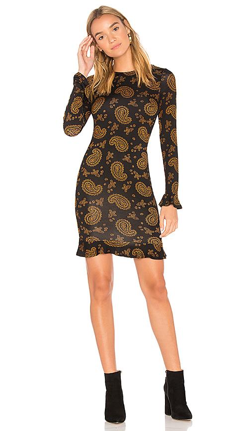 Clayton Beverly Dress in Black