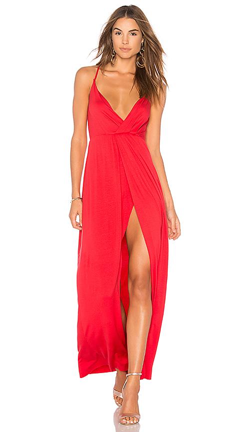 Clayton Maritza Dress in Red