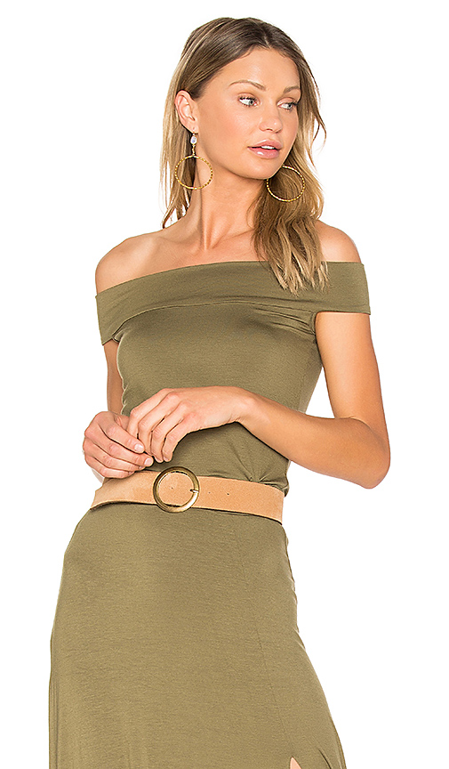 Clayton Anais Top in Olive