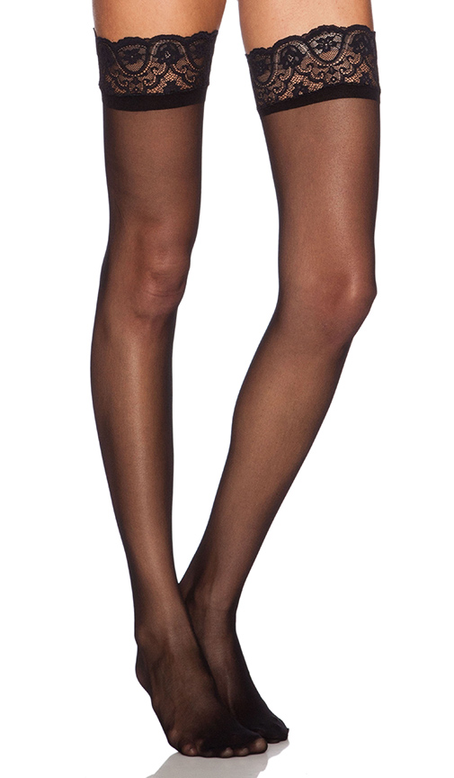 Commando The Sexy Up All Night Thigh High in Black