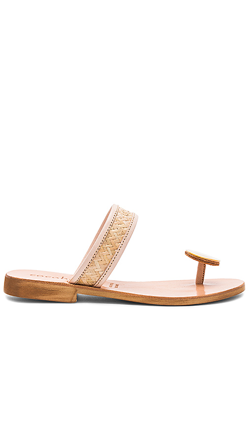 cocobelle Delfina Sandals in Cream